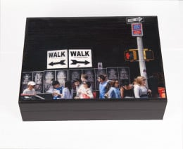 Walk Walk, Keepsake Box,  New York, Deborah Julian Art