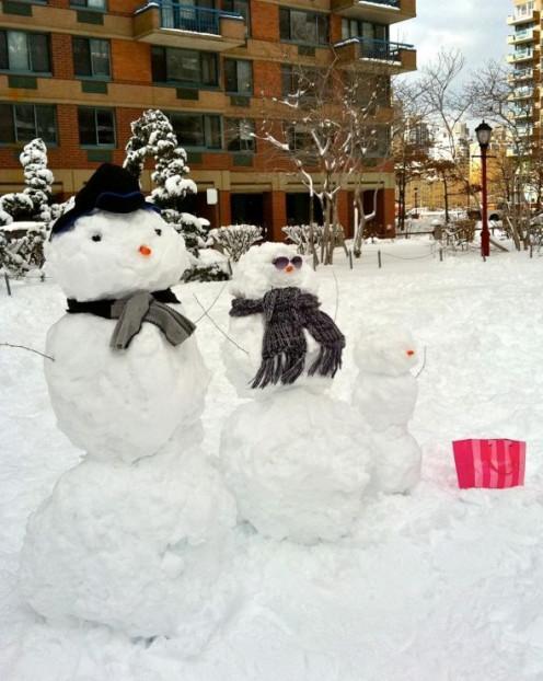 Who knew Ms. Frosty T. Snowman shopped Victoria's Secret?