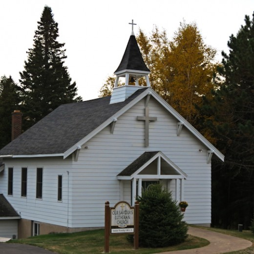 We stopped to photograph this church while traveling to photograph lighthouses along Lake Superior in Minnesota.