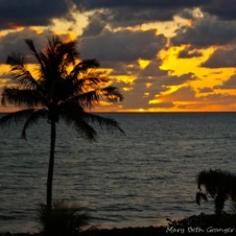Sunrise in Jupiter Florida