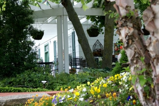 Wine Country Gardens provides a Peaceful Atmosphere