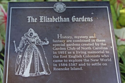 The Elizabethan Gardens on Roanoke Island is a wonderful blend of gardens and statuary.  I found it to be a very relaxing way to spend a morning.