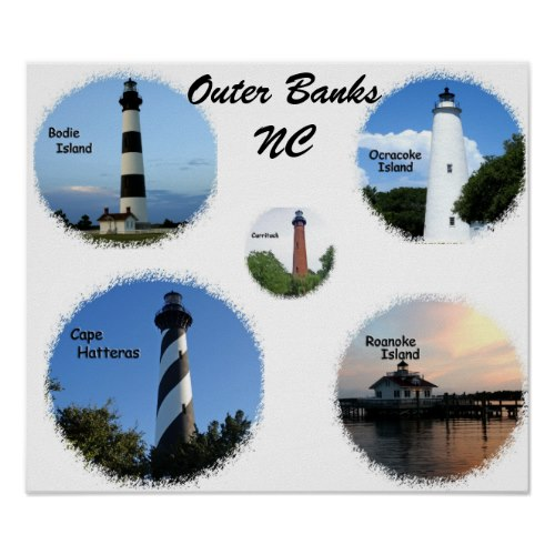Here are the views I liked best of each lighthouse