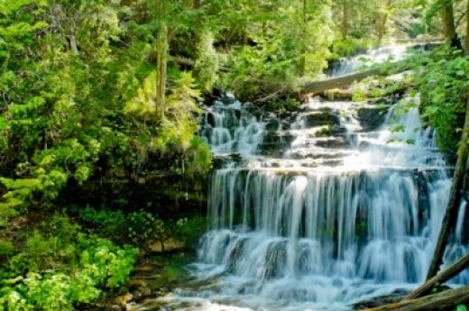 Wagner Falls with an Aperature of F8