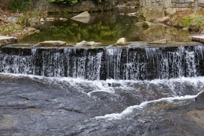 Water at the Grist Mill