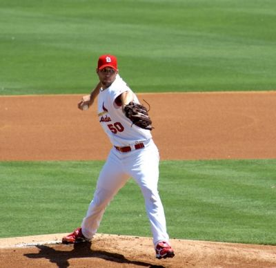 Adam Wainwright Pitching