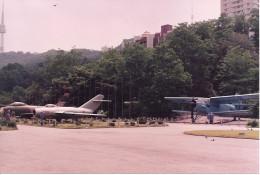 Inside the Korea Freedom League exhibit.  June 1991.