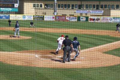 Baseball field at Roger Dean Stadium