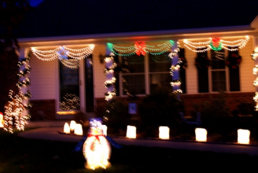 Penquin Outdoor Christmas Decorations