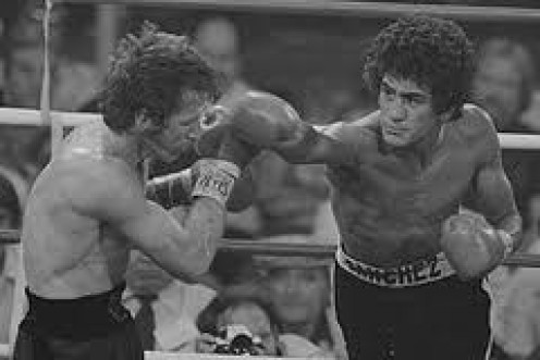 "Salvador Sanchez beat Danny ""Little Red"" Lopez twice winning both bouts by knockout."