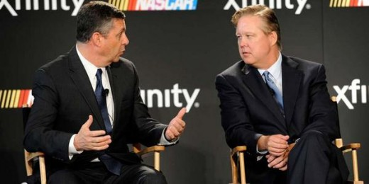 NASCAR Chairman Brian France and Comcast may have a winner on their hands