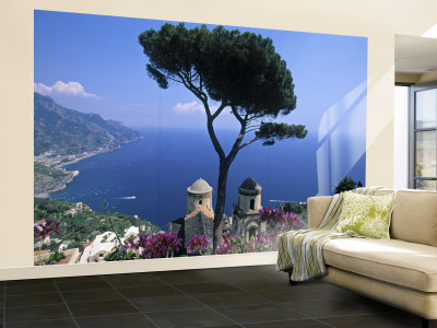 This beautiful scene of the Amalfi coast can be purchased at Allposters.