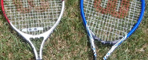 The Lacing is Important to How the Racket Performs