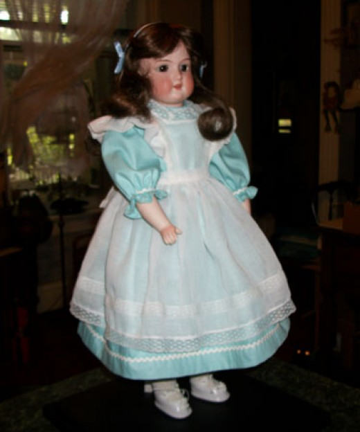 The doll is finally restored!