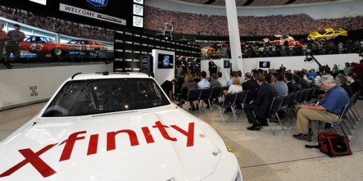An Xfinity car is the first sign of the new NASCAR-Comcast partnership