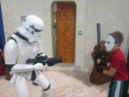 Casey Jones vs Storm Trooper