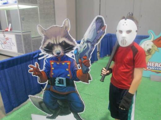 Casey Jones and Rocket Raccoon