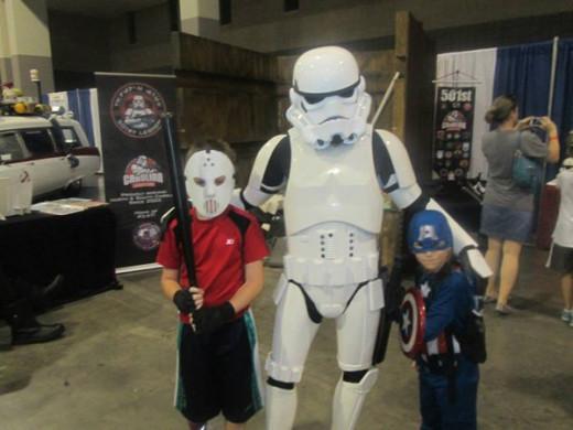 Casey Jones, Storm Trooper, Captain America