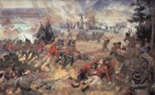 The Battle of Queenston Heights - 1812