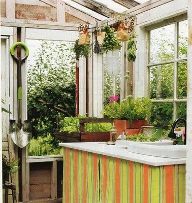 Potting Bench and Shed