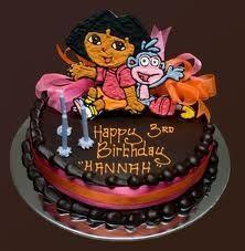 Dora the Explorer cakes