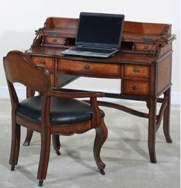 19th Century Style English Writing Table
