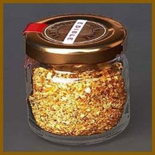 Edible gold