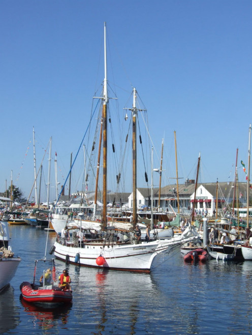 Boats in the Port Townsend Marina