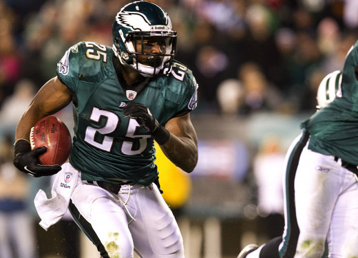 Philadelphia Eagles RB LeSean McCoy