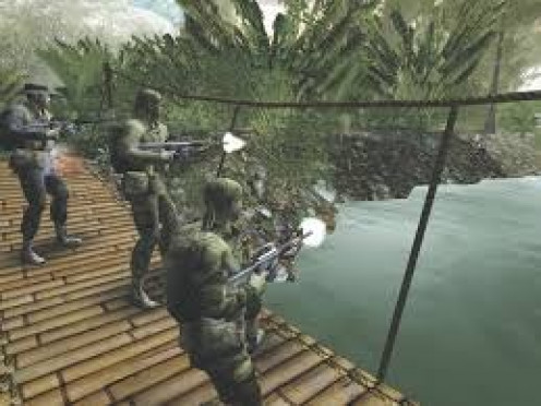Elite Warriors: Vietnam was released to great acclaim in 2005. The sounds and graphics are excellent in this game and it makes you feel like you are really in the jungle.