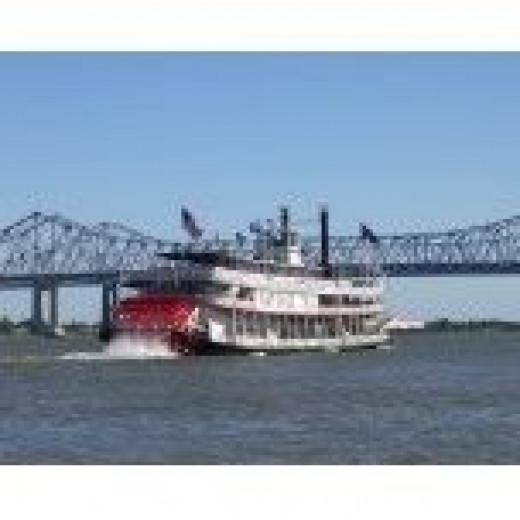 Impromptu Shot of Riverboat