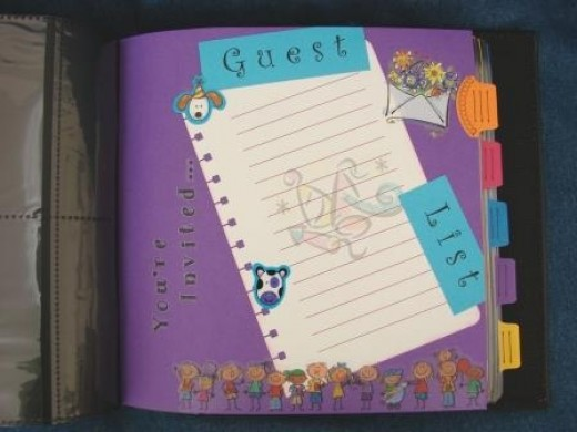 Providing journal pages gives the opportunity to makes notes of memory.