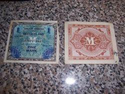 World War II Military Currency