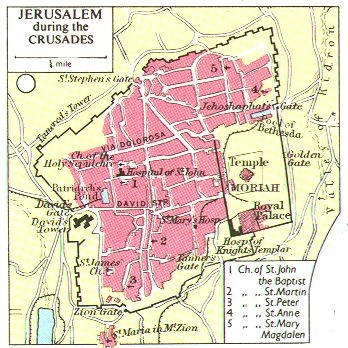Jerusalem (At the time of the Crusades)