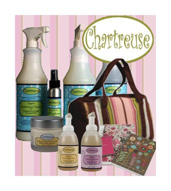 Go green with organic, reusable and biodegradable products from Chartreuse!