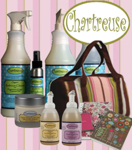 Eco Chic Unique Products from Chartreuse!