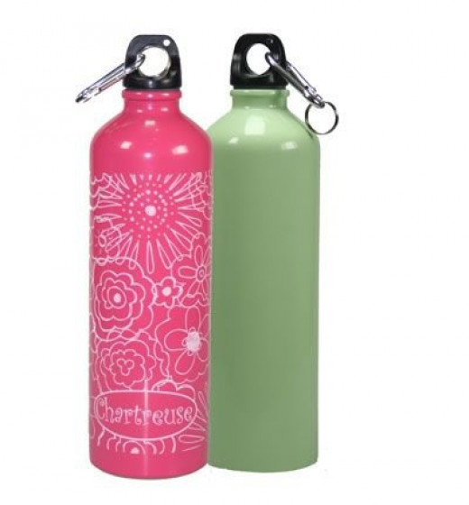 Entirely Chemical Free Stainless Steel Water Bottles from Chartreuse
