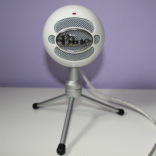 This is my very own Blue Snowball iCE condenser Microphone, by Blue Microphones.
