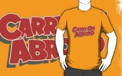 orange carry on abroad