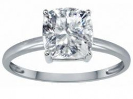14k gold white topaz engagement ring under $500