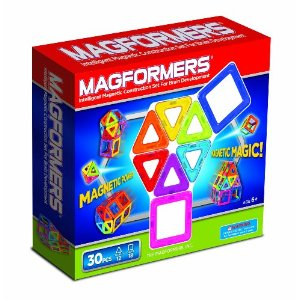 Magformers are a colorful, educational, and fun toy they will use for years to come. Start building your collection now when they are young.