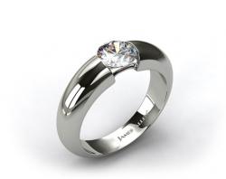 James Allen bar set tension engagement ring