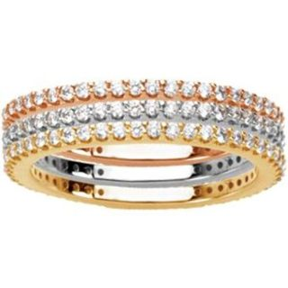tri color stacking rings on amazon com