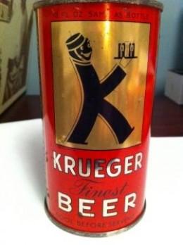 Buy My Vintage Krueger Finest Beer Flat Top Can