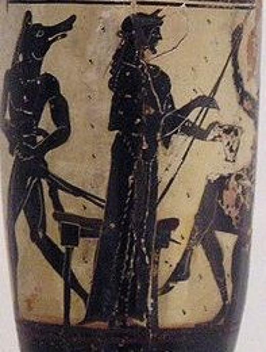 Kirke and Odysseus by Marsyas on Wikipedia