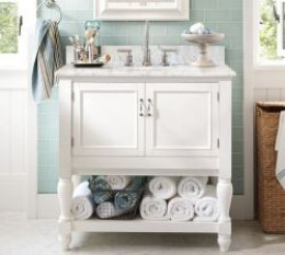 Bathroom Vanity Pottery Barn pottery barn look-alike single sink bathroom vanities : find.like.buy.