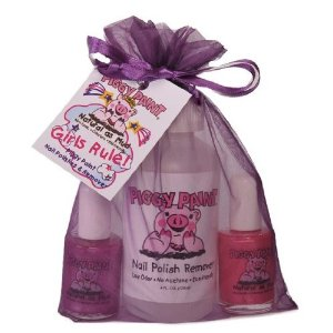 Piggy Paint was created by a mom for little girls who love their mani-pedi!