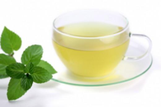 Stay Warm With Mint Tea