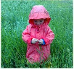 Girls Raincoats - Girl in the Grass