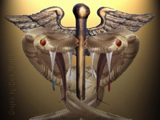 Snakes in bronze